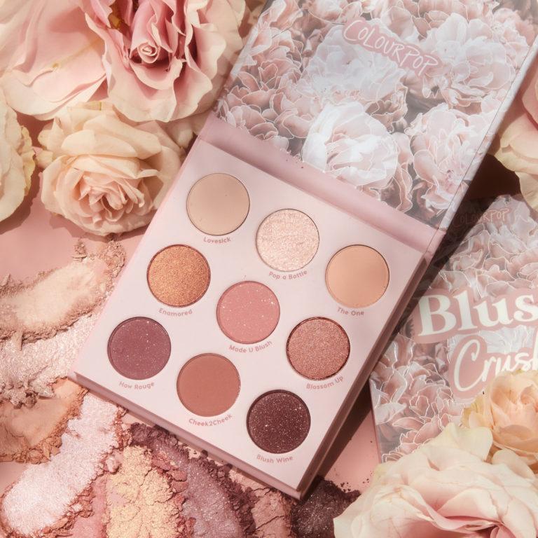 Colourpop Soft Glam Collection Blush Crush Eyeshadow Palette