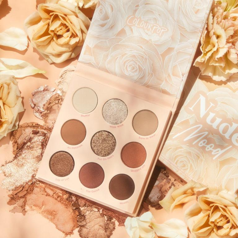 Colourpop Soft Glam Collection Nude Mood Eyeshadow Palette
