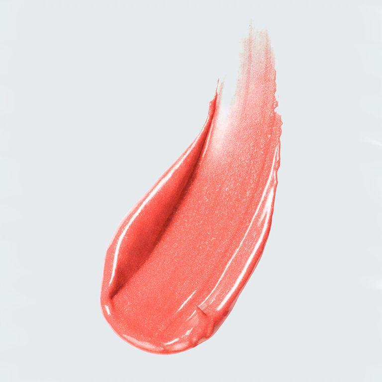 Estee Lauder x Danielle Lauder Act IV Collection Luxe Lip Creme Swatch Coral