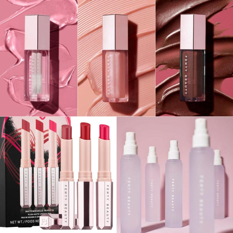 Fenty Beauty Gloss Bombs, Lipsticks Set & What It Dew Post Cover