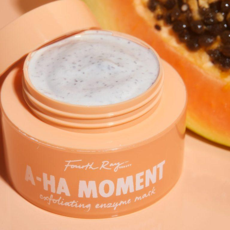 Fourth Ray Beauty A HA Moment Exfoliating Enzyme Mask Closer