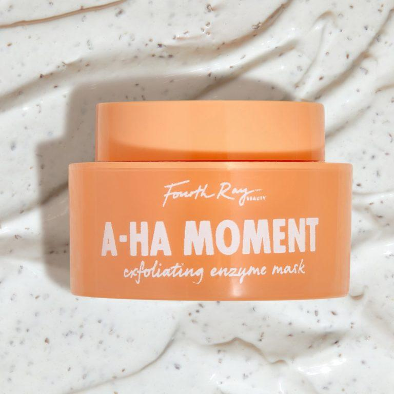 Fourth Ray Beauty A HA Moment Exfoliating Enzyme Mask Product And Texture