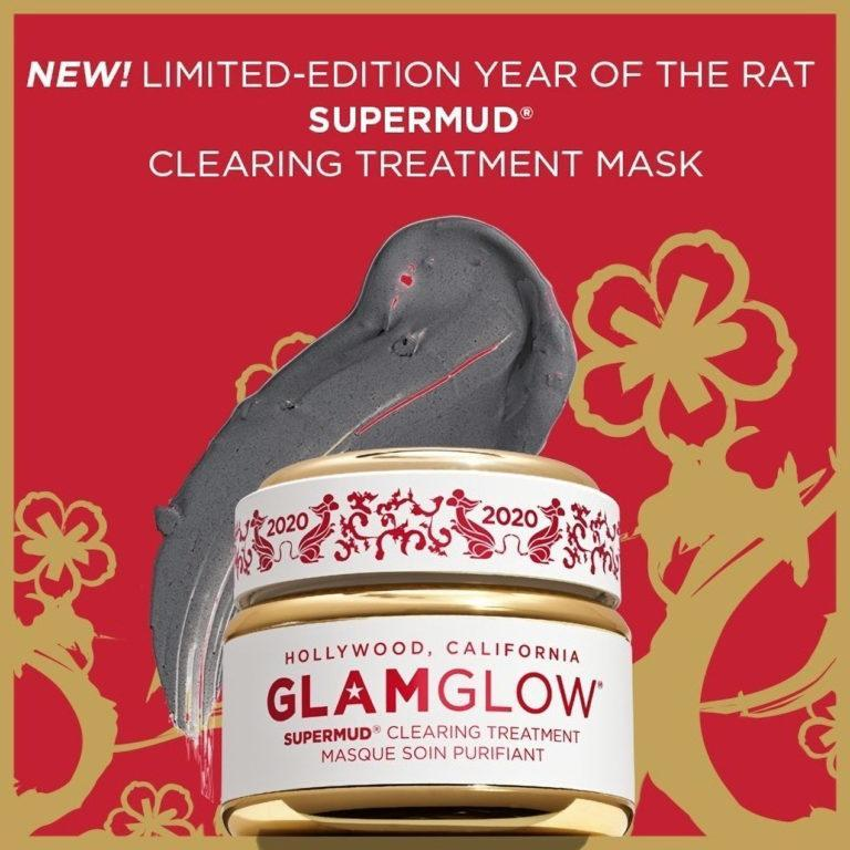 GlamGlow SUPERMUD Clearing Treatment Mask Chinese New Year 2020 Post Cover
