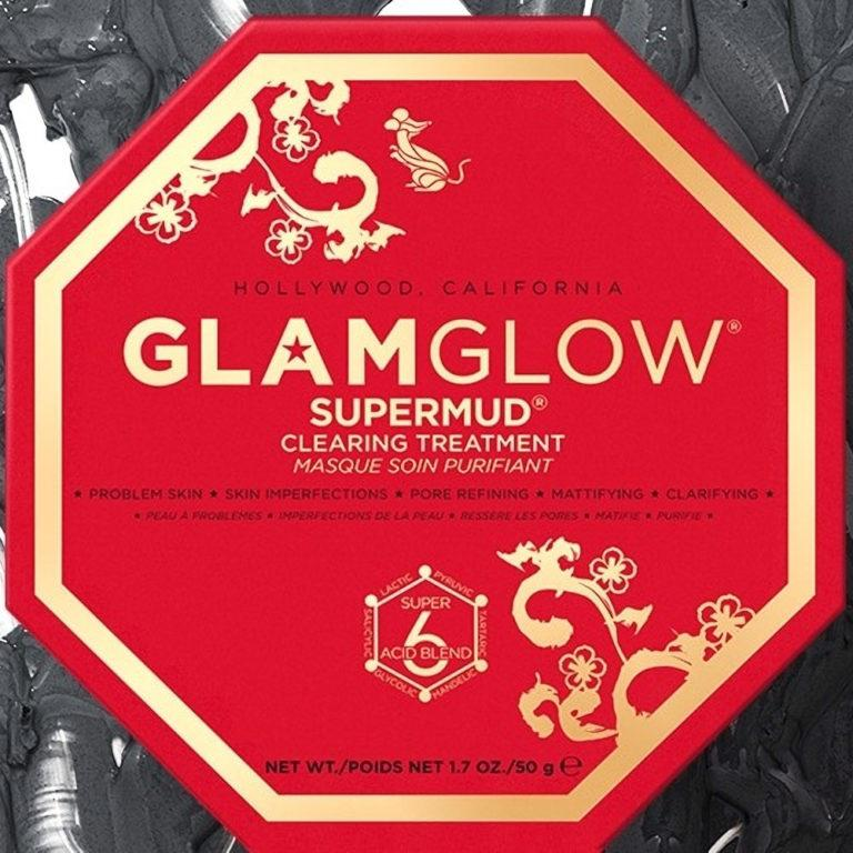 GlamGlow SUPERMUD Clearing Treatment Mask Chinese New Year 2020 Product Cover