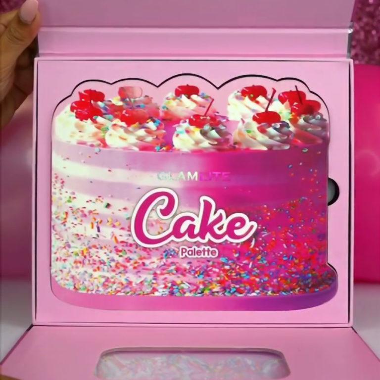 GlamLite Cake Palette PR Box Open