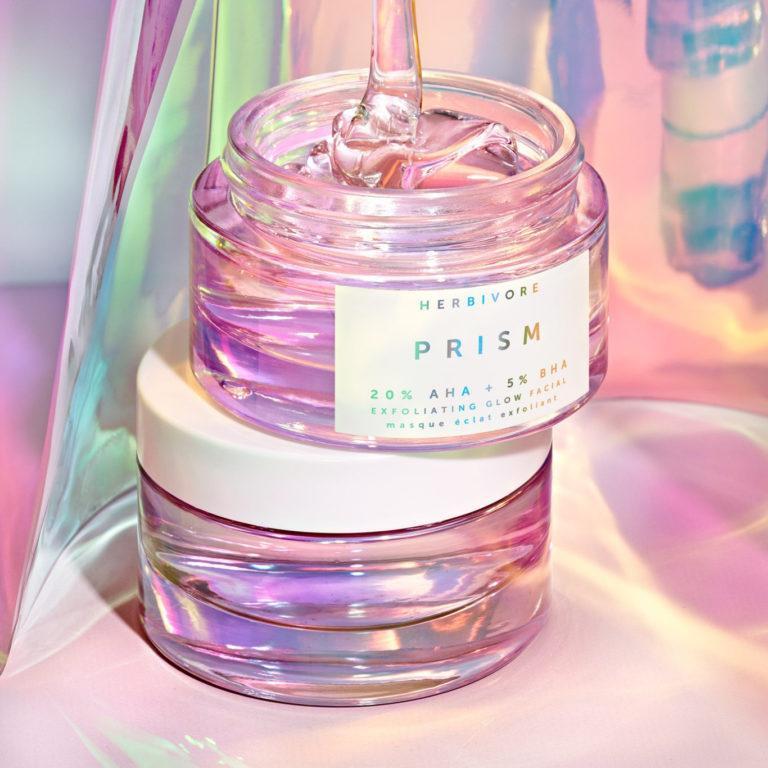 Herbivore Botanicals Prism 20% AHA + 5% BHA Exfoliating Glow Facial Cover