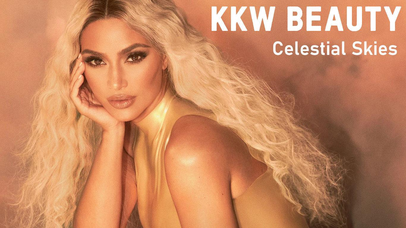 KKW Beauty Celestial Skies Collection Blog Header