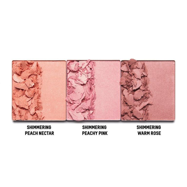 KKW Beauty Celestial Skies Collection Blushe Shimmer Swatch