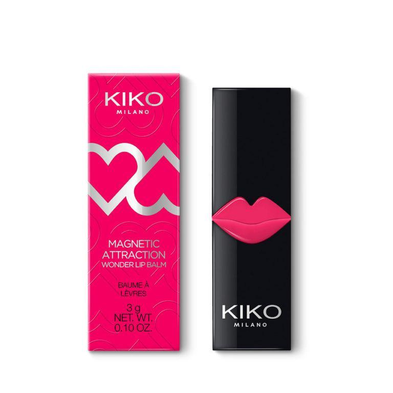 Kiko Milano Magnetic Attraction Collection Wonder Lip Balm Swacth Closed