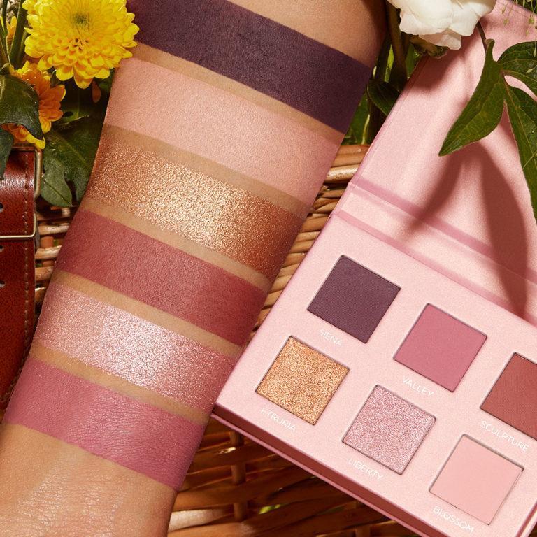 Kiko Milano Tuscan Sunshine Collection Eyeshadow Palette Swatches