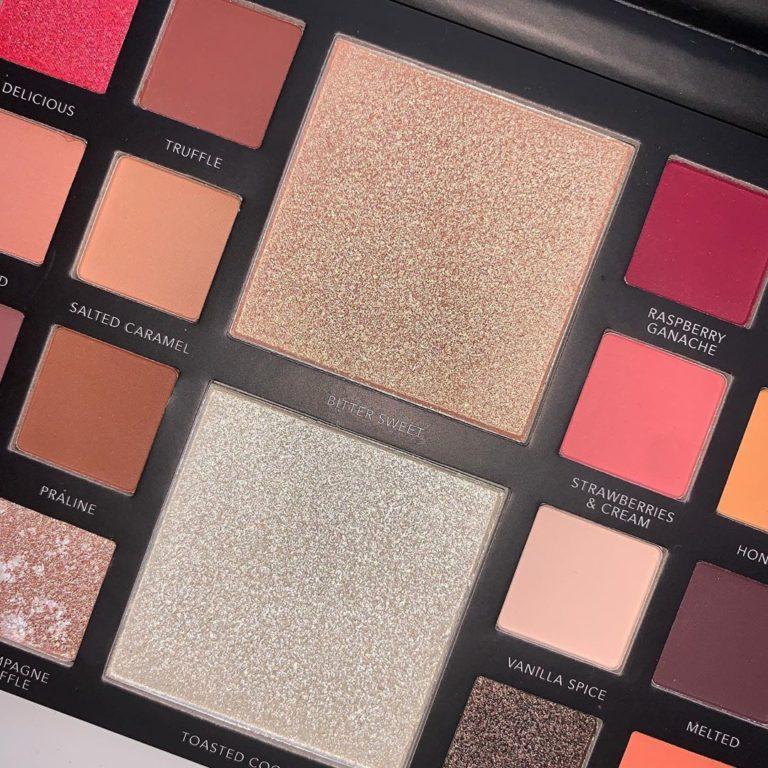 LaRoc Cosmetics The Chocolate Box Palette Open Closer Center