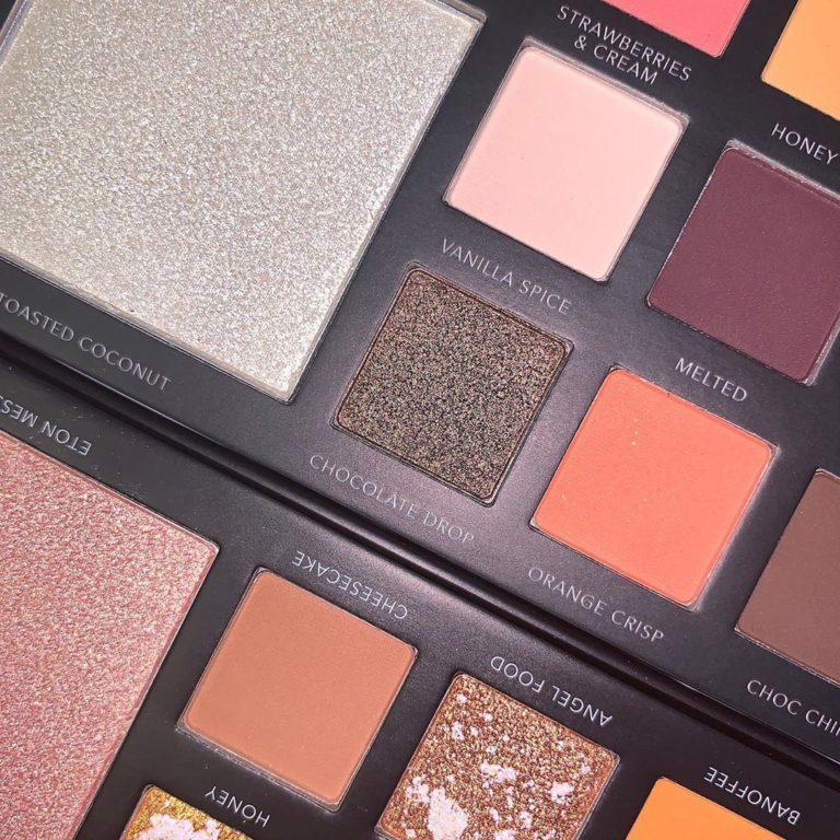 LaRoc Cosmetics The Chocolate Box Palette Open Closer Right