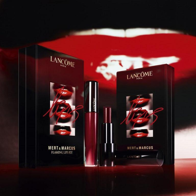 Lancome After Dark Collection Flaming Lips Kit
