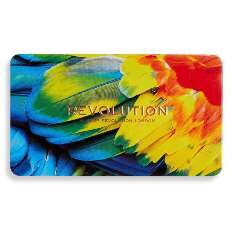 Makeup Revolution Forever Flawless Birds of Paradise Palette Closed