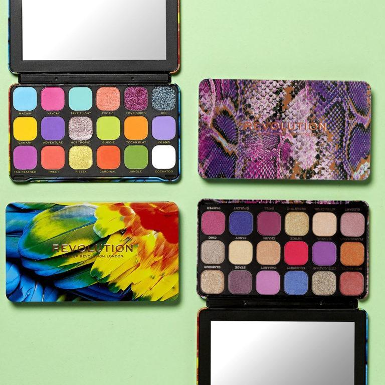 Makeup Revolution Forever Flawless Palettes Post Cover