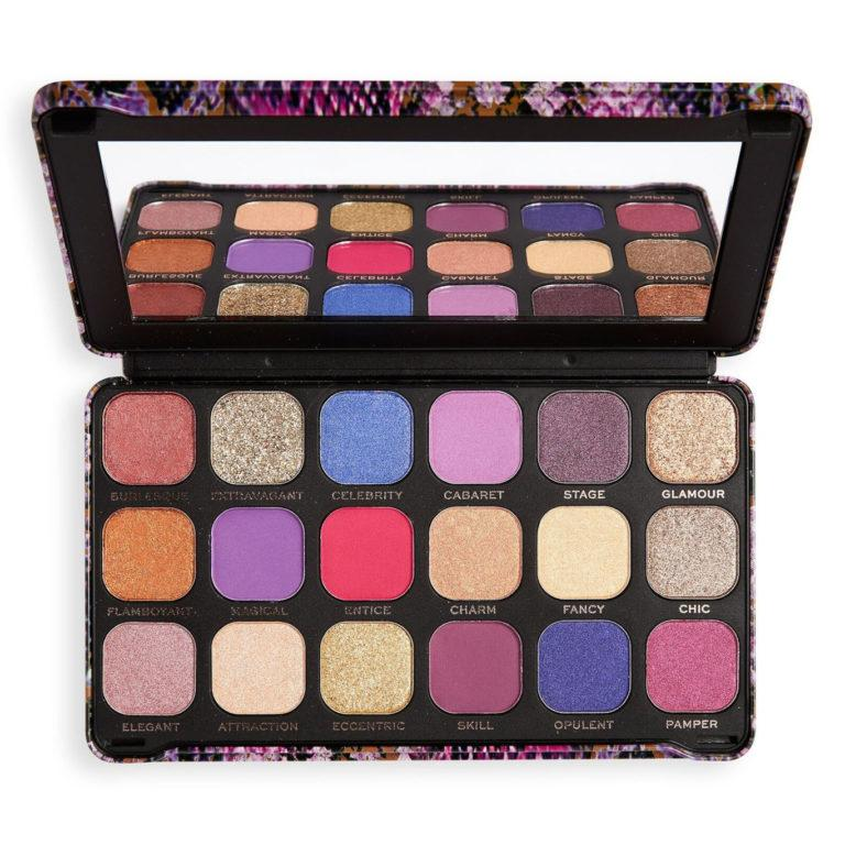 Makeup Revolution Forever Flawless Show Stopper Palette Open