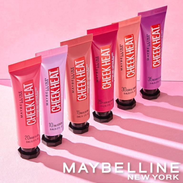 Maybelline New York Cheek Heat Gel Cream Blush Post Cover