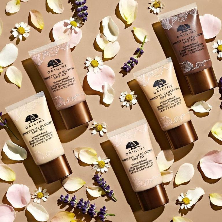 Origins Pretty in Bloom™ Flower Infused Long Wear Foundation SPF20 ALT 3