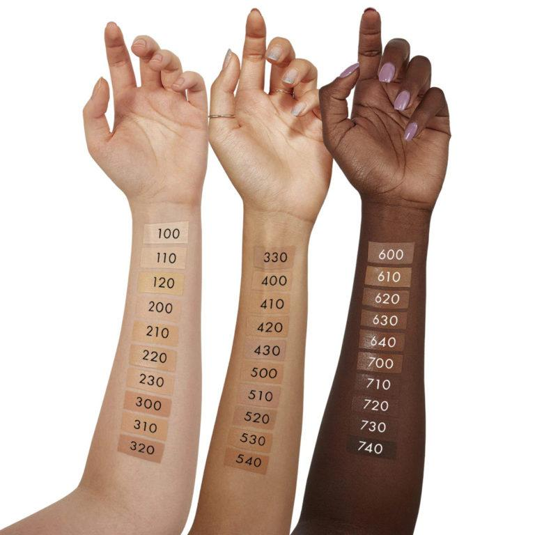Origins Pretty in Bloom™ Flower Infused Long Wear Foundation SPF20 Swatches
