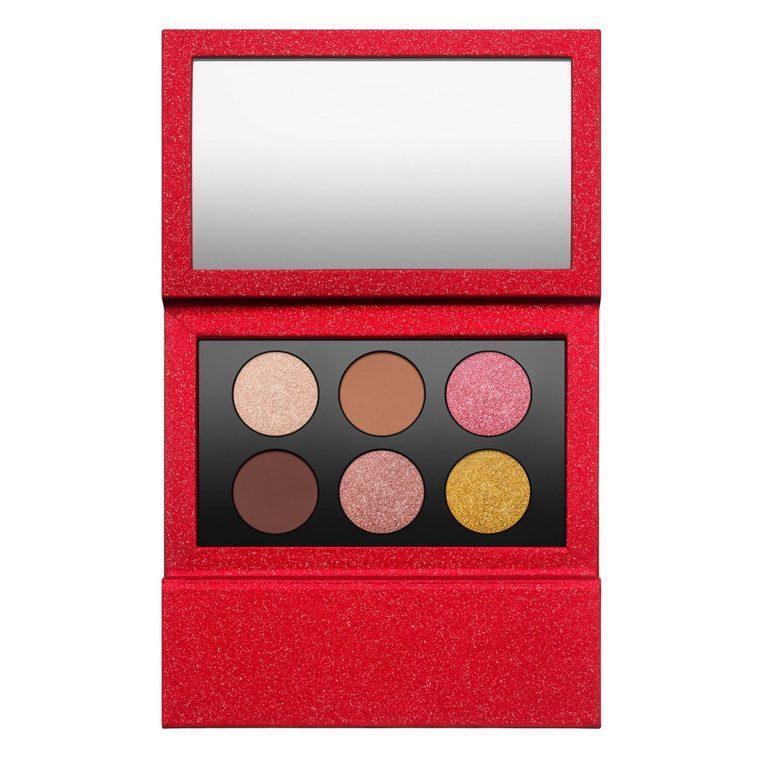 Pat McGrath Labs MTHRSHP Sublime Golden Opulence Eyeshadow Palette Open
