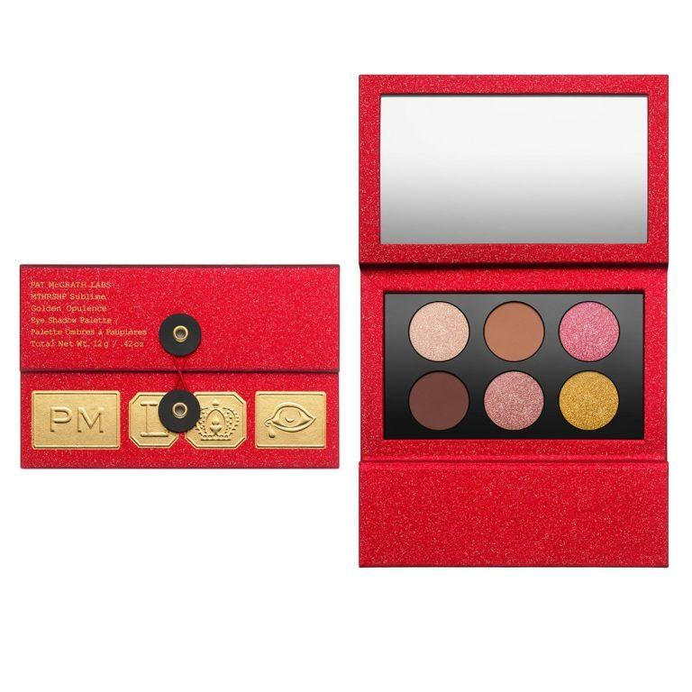 Pat McGrath Labs MTHRSHP Sublime Golden Opulence Eyeshadow Palette Open & Closed