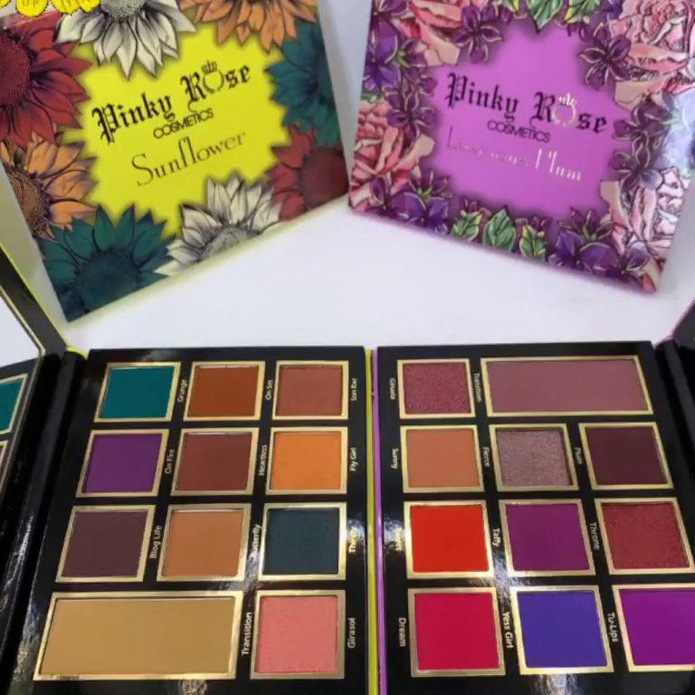 Pinky Rose Cosmetics Sunflower & Luscious Plum Palettes Post Cover