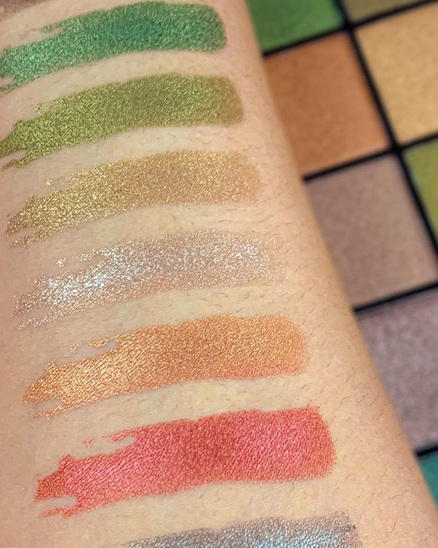 Revolution Reloaded palettes Empire Swatch