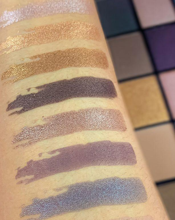 Revolution Reloaded palettes Iconic 1.0 Swatches