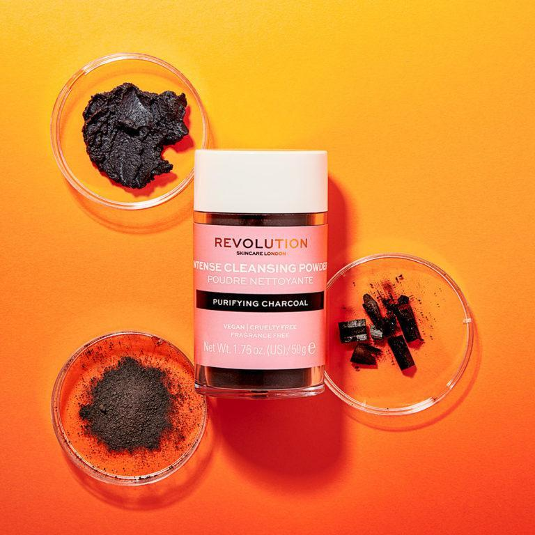 Revolution Skincare Cleansing Powders Purifying Charcoal