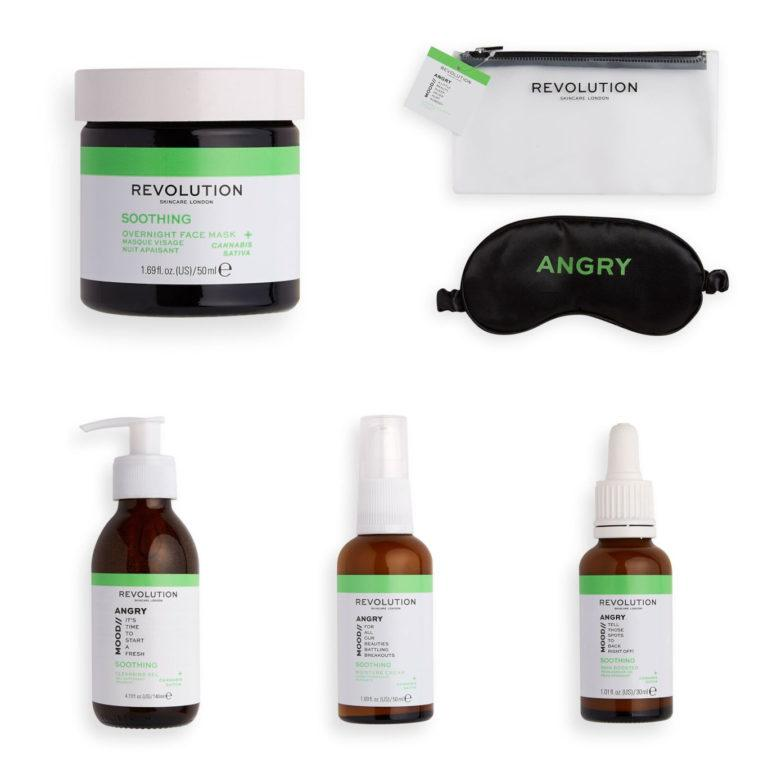 Revolution Skincare Mood Collections Angry Mood Products