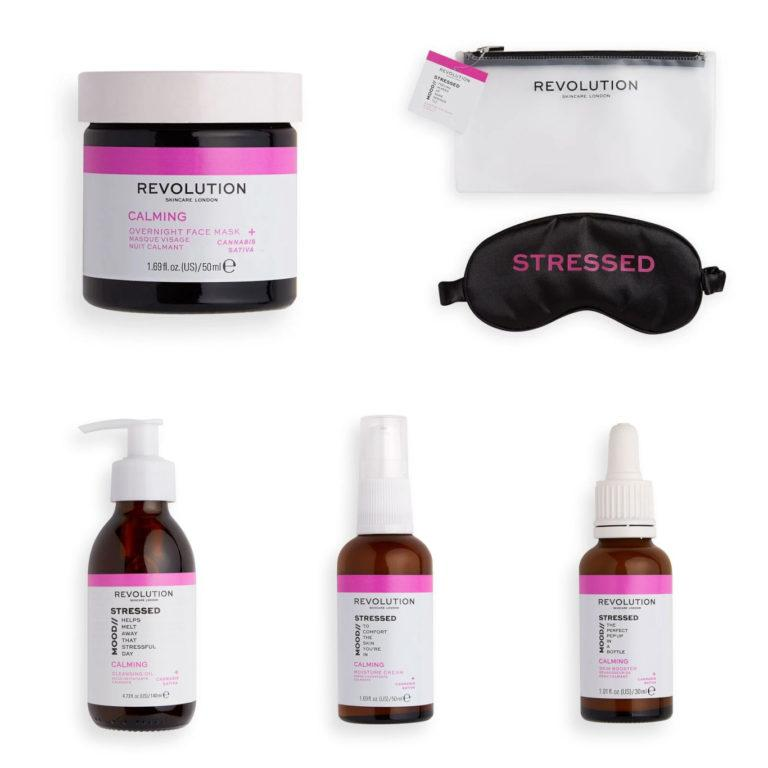 Revolution Skincare Mood Collections Stressed Mood Products