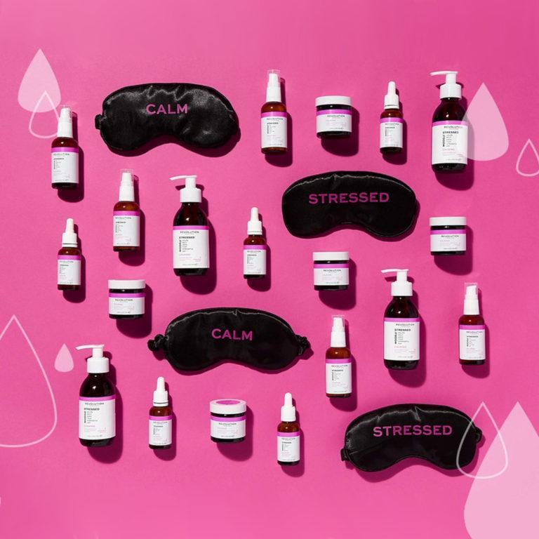 Revolution Skincare Mood Collections Stressed Mood Promo