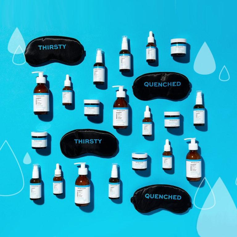 Revolution Skincare Mood Collections Thirsty Mood Promo