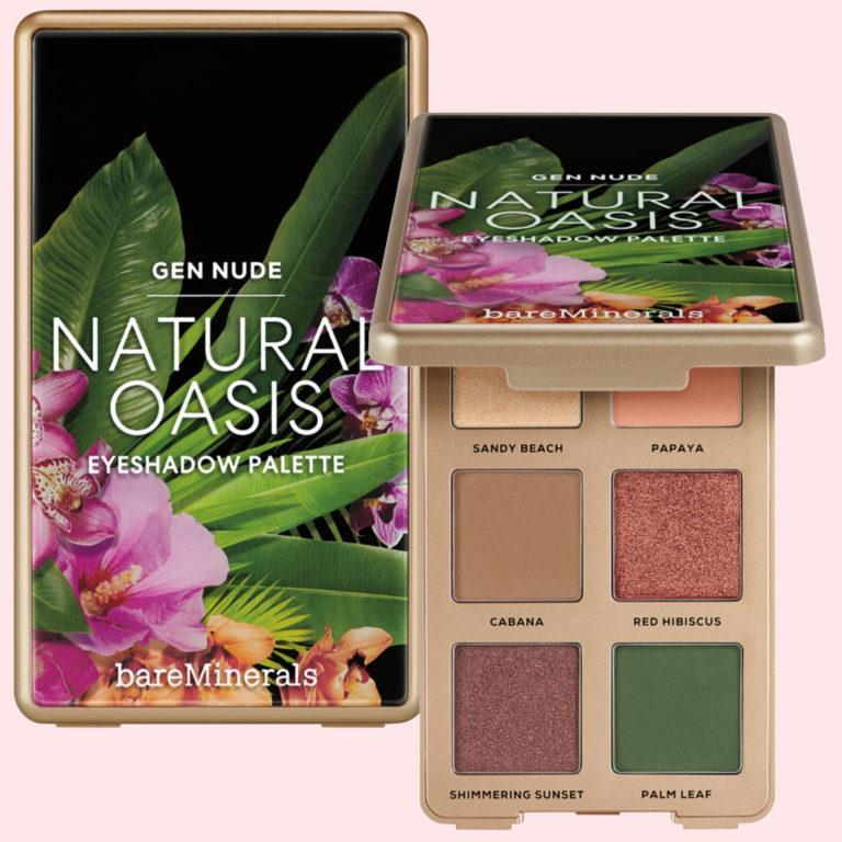 The Beauty of Nature GEN NUDE Eyeshadow Palette Natural Oasis