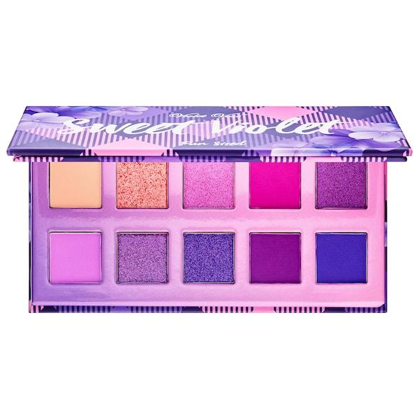 Violet Voss Sweet Violet Fun Sized Eyeshadow Palette Open
