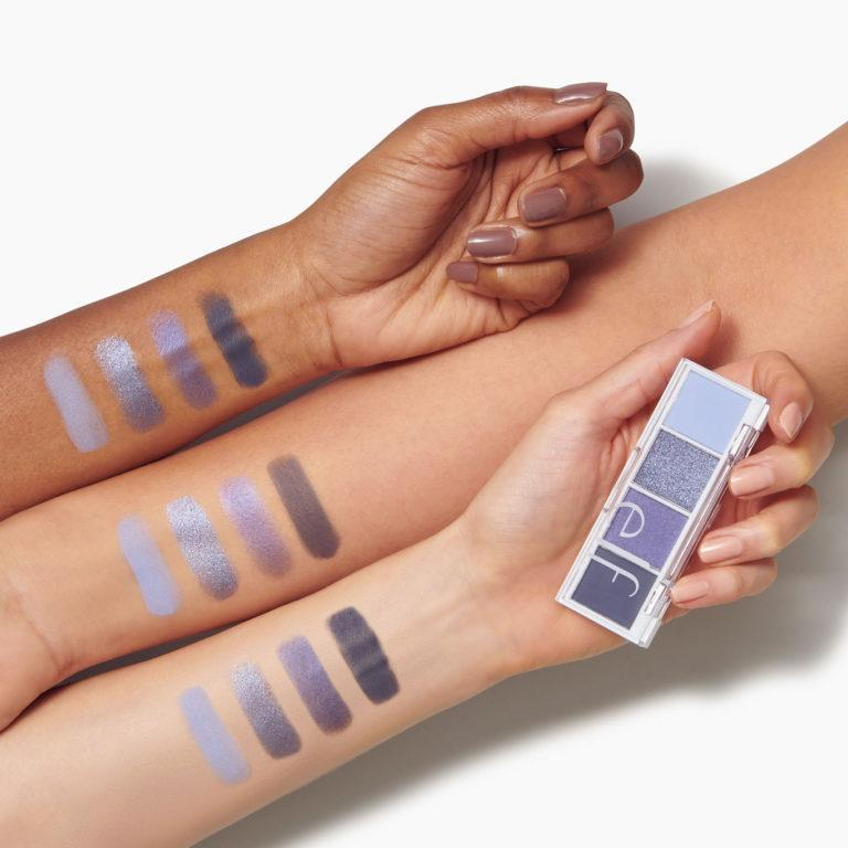 e.l.f. Cosmetics Bite Size Eyeshadows Arm Swatches Açaí You