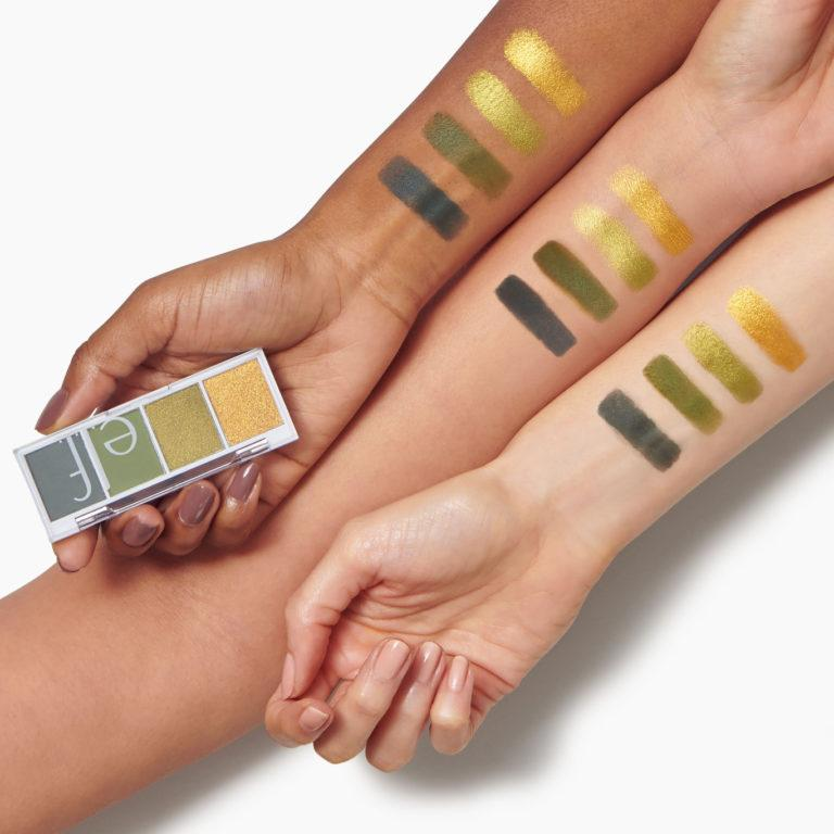 e.l.f. Cosmetics Bite Size Eyeshadows Arm Swatches Hot Jalapeño