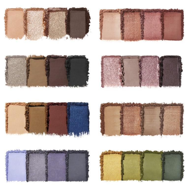 e.l.f. Cosmetics Bite Size Eyeshadows Crash Swatches