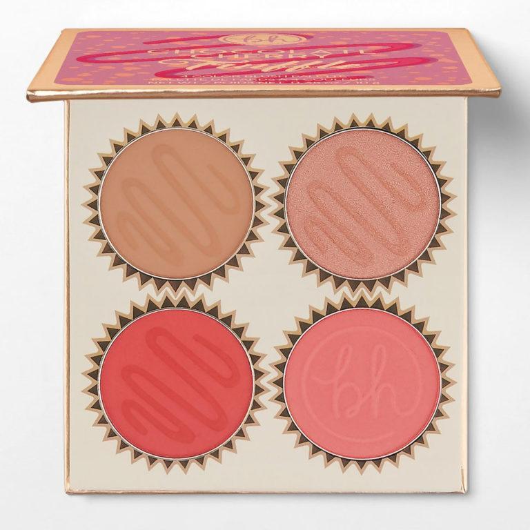 BH Cosmetics Truffle Blush Chocolate Cherry Palette Open