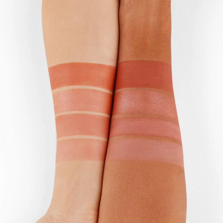 BH Cosmetics Truffle Blush Chocolate Orange light peachy orange tones