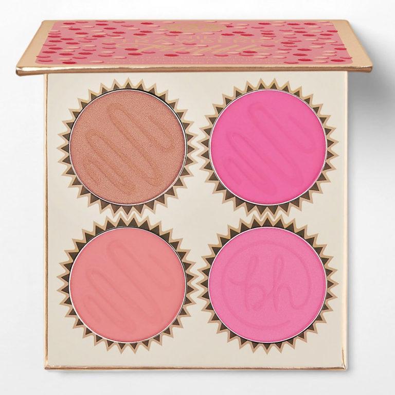BH Cosmetics Truffle Blush Vanilla Strawberry Palette Open