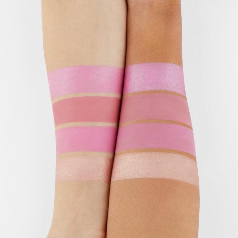 BH Cosmetics Truffle Blush Vanilla Strawberry bright pink tones