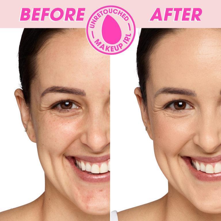 Beauty Blender Concealer Color 2.20 Light Olive Before After