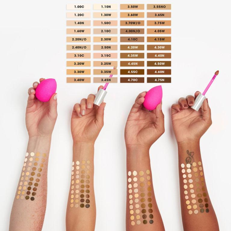 Beauty Blender Concealer Swatches