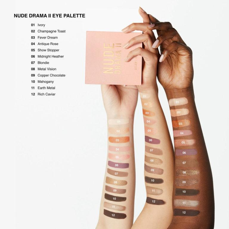 Bobbi Brown Nude Drama II Eyeshadow Palette Arm Swatches