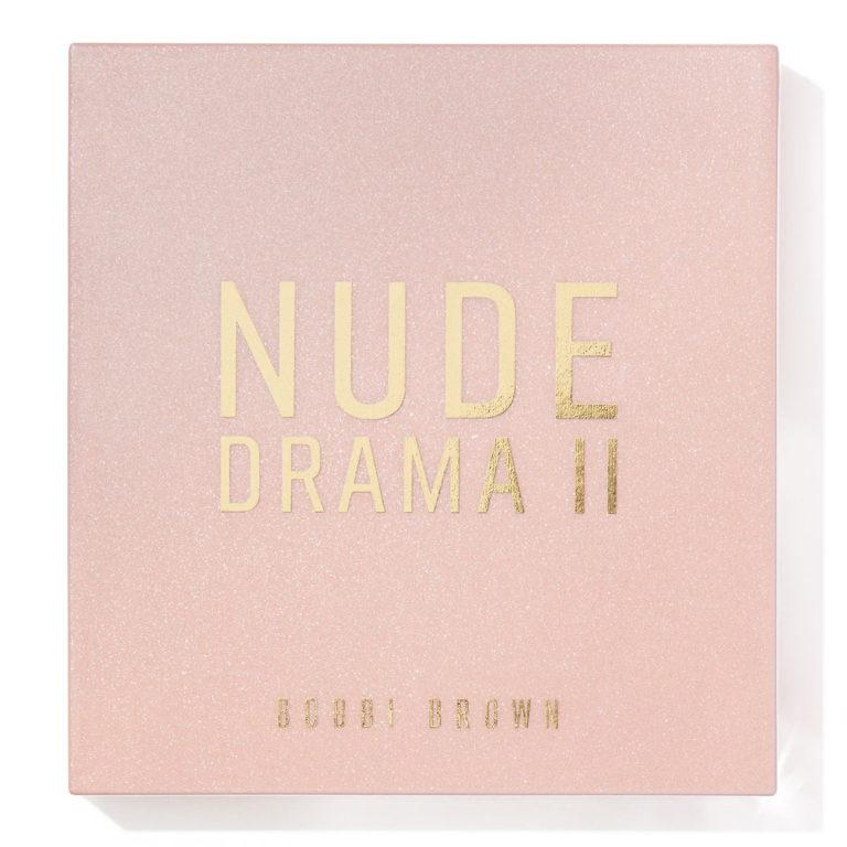 Bobbi Brown Nude Drama II Eyeshadow Palette Cover