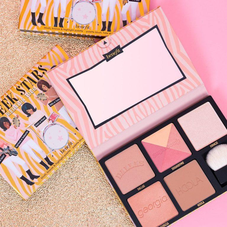Cheeks Stars Reunion Tour Blush, Bronzer & Highlighter Palette Promo