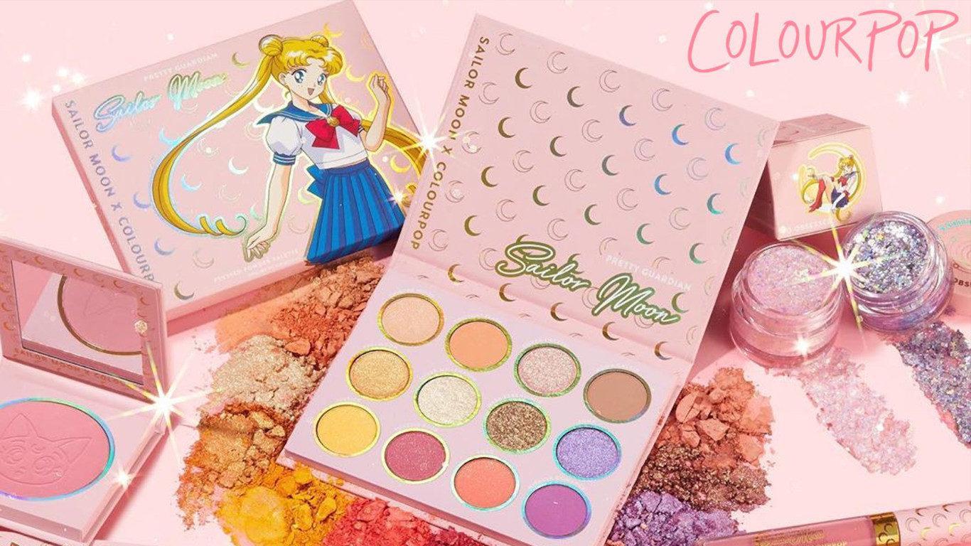 Colourpop x Sailor Moon Collection Blog Cover
