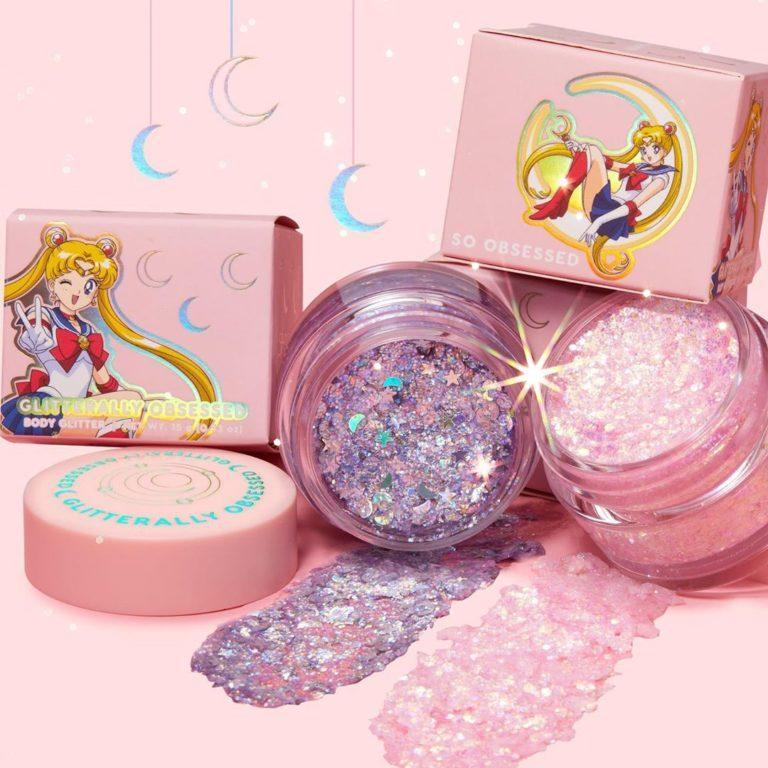Colourpop x Sailor Moon Collection Glitterally Obsessed