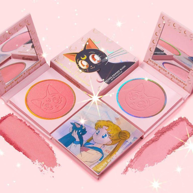 Colourpop x Sailor Moon Collection Pressed Powder Blushes